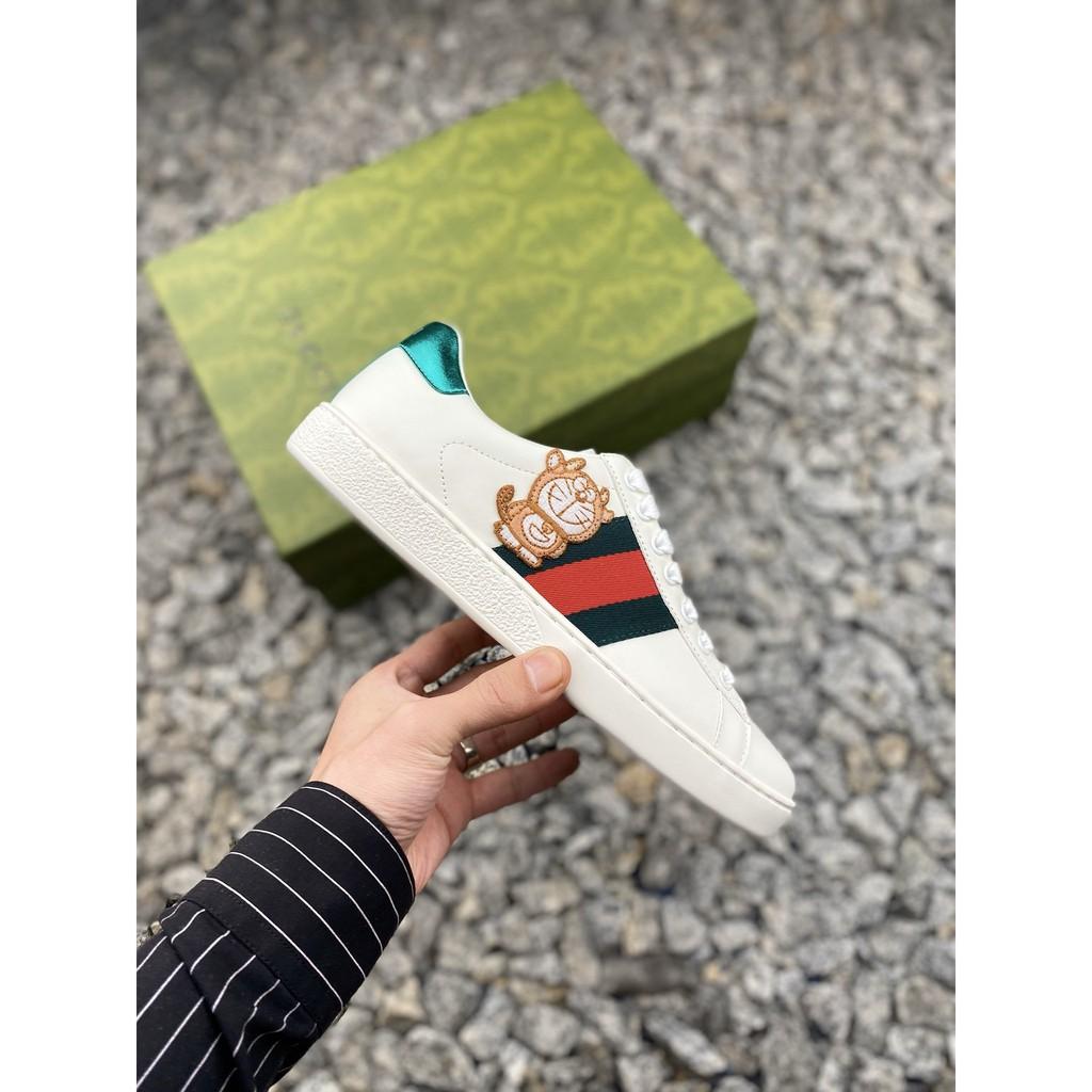 【Cultural️_無鞋不談】GUCCI 古馳  機器貓 哆啦A夢聯名板鞋 有一種陪伴叫做哆啦A夢男款女款鞋
