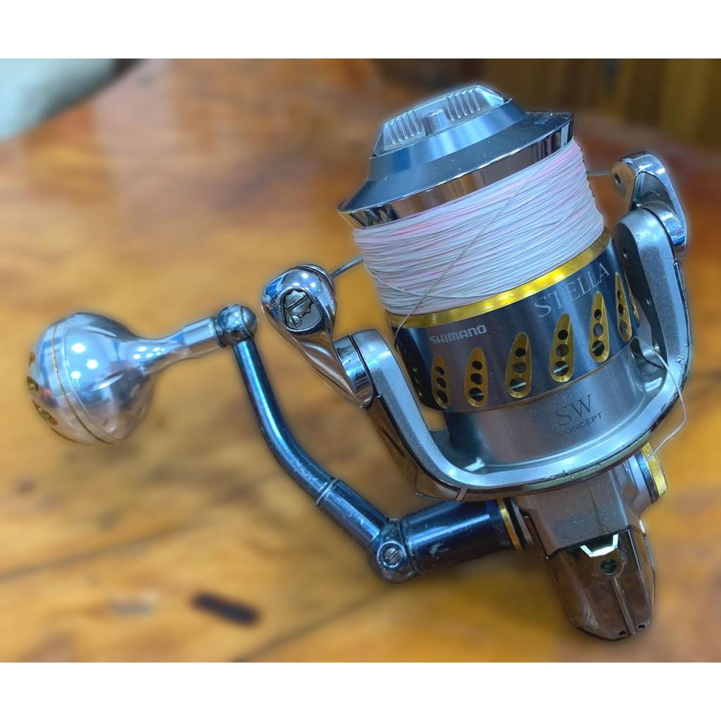 台中二手家具 家電推薦FR51103*Shimano STELLA 8000SW-PC*中古釣竿各式捲線器 二手釣具買賣