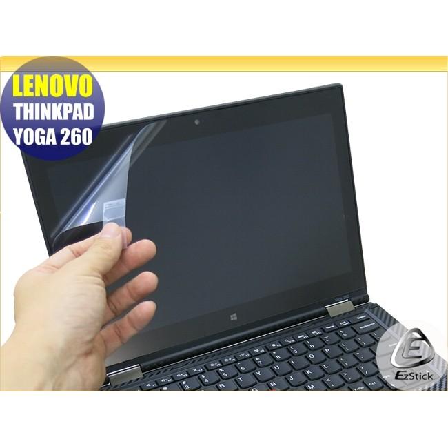 【Ezstick】Lenovo ThinkPad YOGA 260 特殊 靜電式筆電LCD液晶螢幕貼(可選鏡面或霧面)