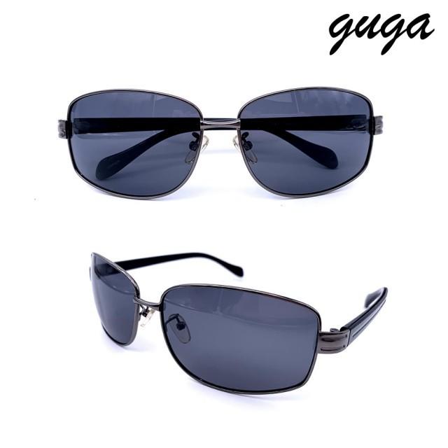 【GUGA】UV400偏光鋁鎂合金太陽眼鏡(s3204)