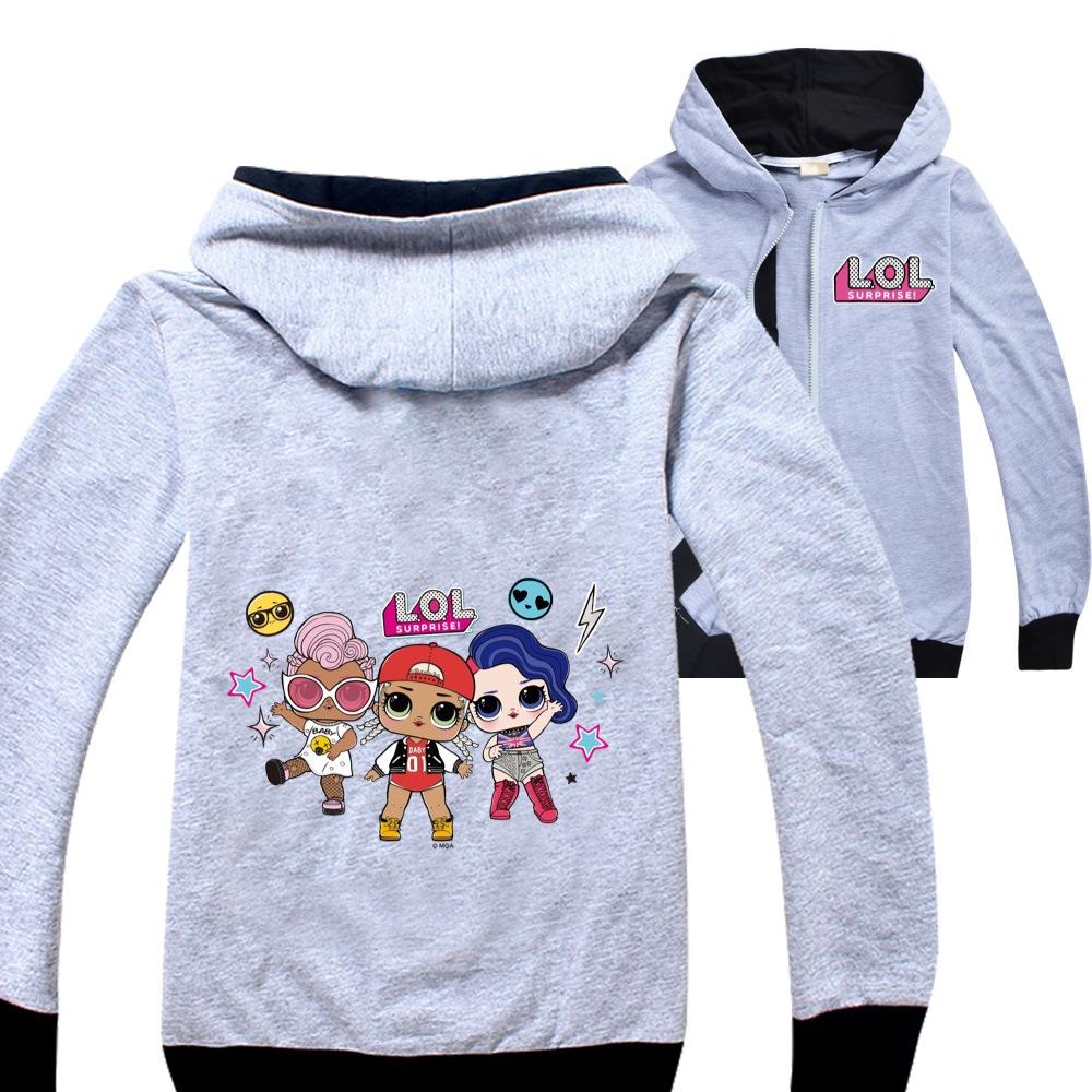 2020 兒童時尚男孩女孩服裝上衣 Lol Surprise Coat Boys Tee Jojo Siwa 大衣衣服