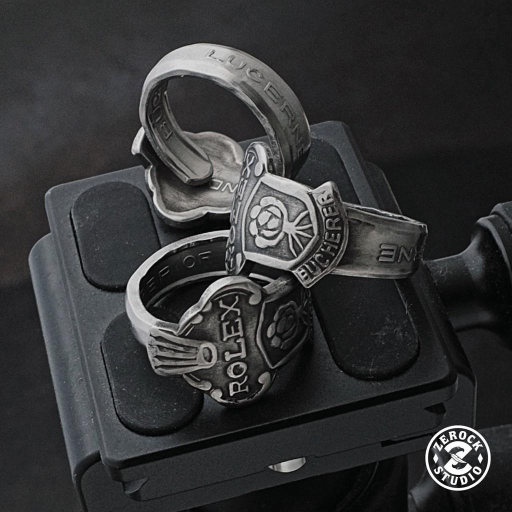 《ZEROCK》ROLEX 勞力士 全鋼 湯匙 湯匙戒 戒指