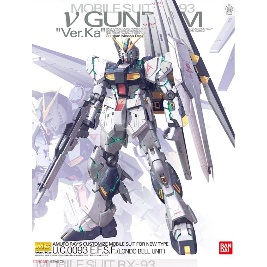 【模神】現貨 BANDAI 鋼彈 MG 1/100 RX-93 Nu鋼彈 GUNDAM Ver.Ka 牛鋼 卡牛 v鋼彈