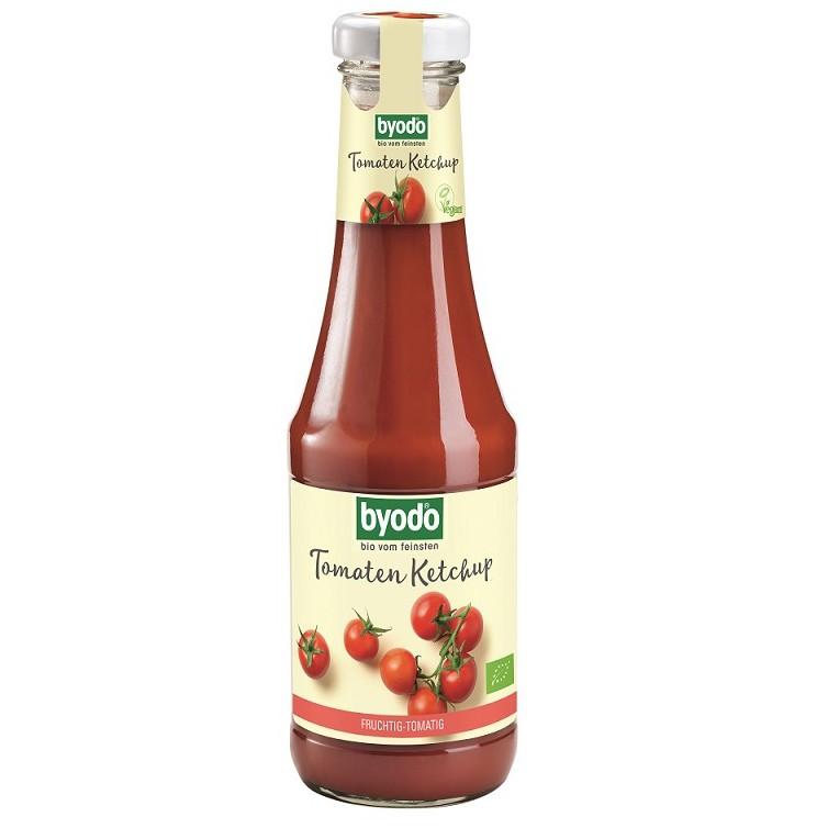 3瓶特惠 清淨生活 德國有機原味蕃茄醬(五辛素) 500ml/瓶