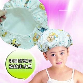 PS樂【CJ208】雙層防水 兒童 浴帽 卡通動物圖案 新北市