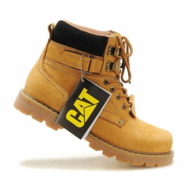 【台灣出貨】CAT 馬丁鞋 馬丁靴 中筒靴 情侶鞋 防水防滑 女鞋 高幫鞋 男鞋 工作鞋