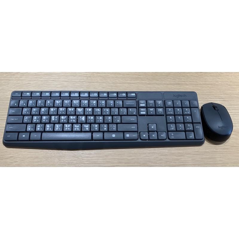 羅技Logitech無線藍牙鍵盤K235+滑鼠M170+無線接收器