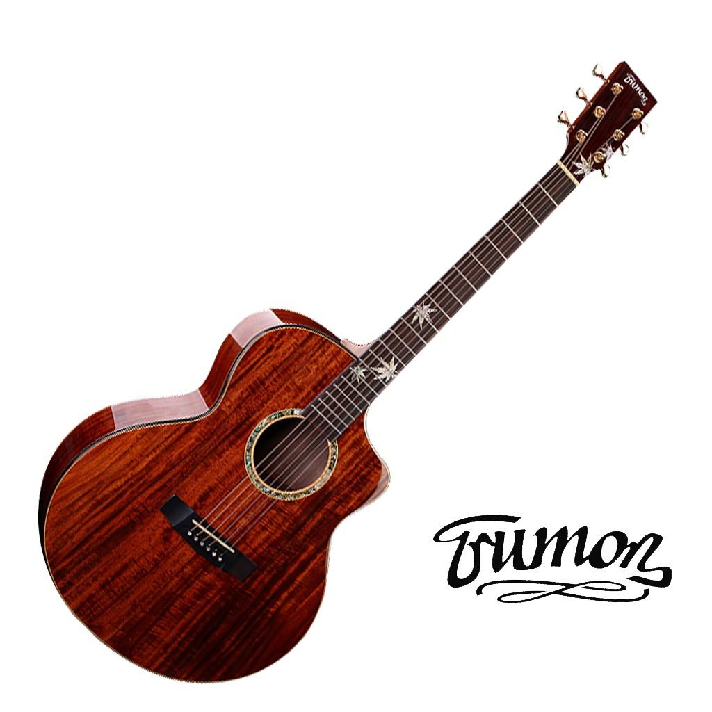 Trumon楚門吉他41吋 1000JF J-1000F 相思木面單 相思木背側 民謠吉他 木吉他【黃石樂器】