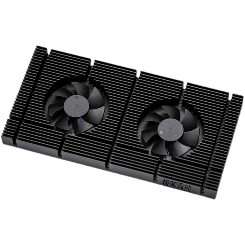 顯卡扇熱器GK6顯卡散背板熱器RTX3090背板散熱 風扇顯存降溫3080/3070散熱器