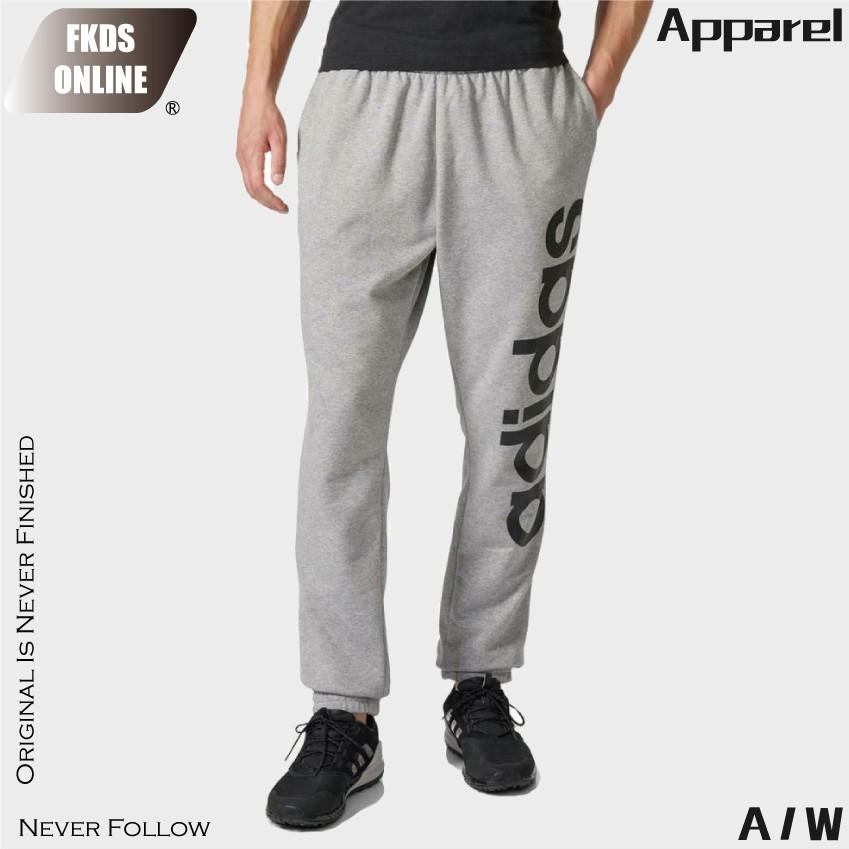 Adidas 愛迪達 經典三線 醒目大logo 運動長褲 休閒長褲 運動褲 AB6068