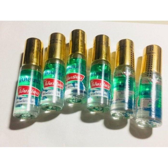 泰國~泰國八仙薄荷清涼油 Poy-Sian,滾珠設計,清涼舒暢(大瓶5cc)G02