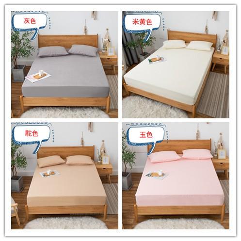 現貨 超火 床包式100%防水保潔墊 雙面防水枕套 防螨抑菌/親膚透氣/吸濕排汗/床單 單人/雙人/加大