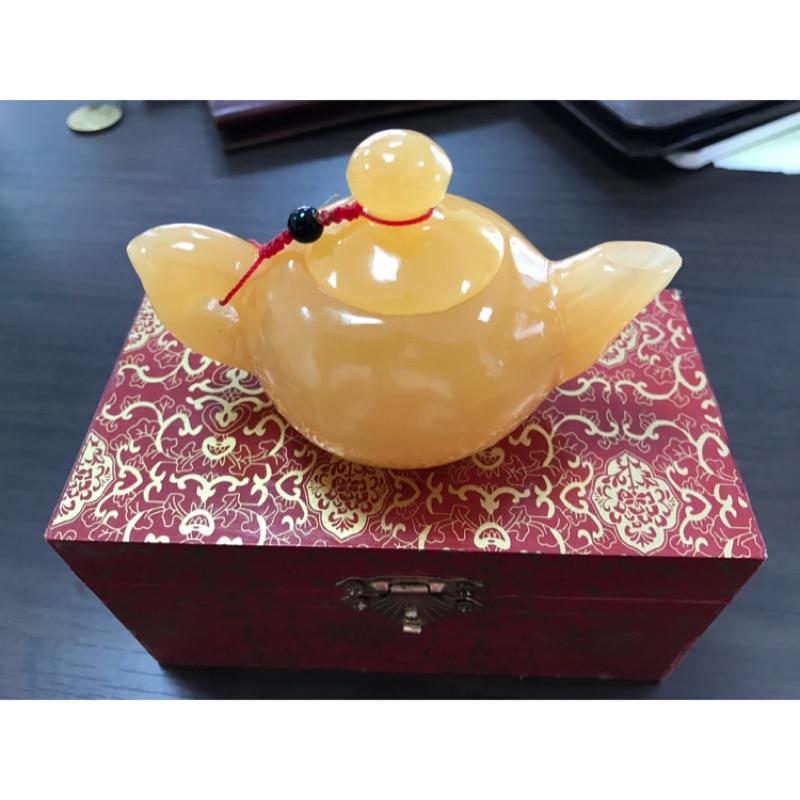 金田黃-茶壺造型