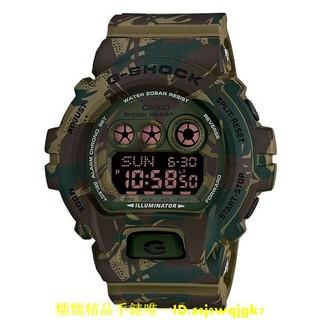 CASIO 卡西歐 G-SHOCK GD-X6900MC-3 叢林迷彩 軍事綠GD X6900