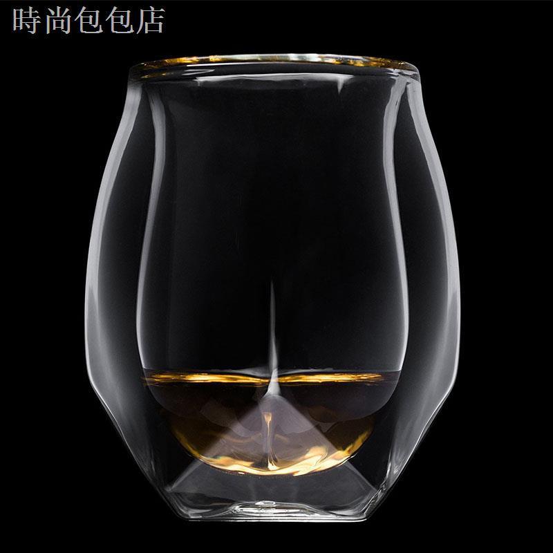 ◎ↂ✹超小眾!Glen Norlan諾蘭杯威士忌杯雙層酒杯ins威士忌大人網紅杯