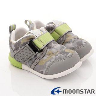 【二手】買一送一。MOONSTAR Carrot 學步運動鞋 速乾鞋-灰