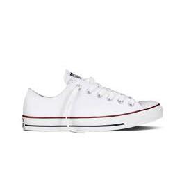 CONVERSE ALL STAR 白 低筒 帆布鞋 基本款 M7652C