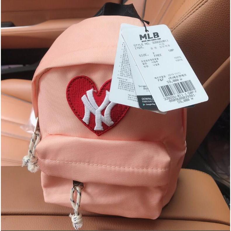 韓國正品代購 MLB 洋基隊雙肩包 女包幼兒園書包  兒童後背包 防走失兒童雙肩包~夏浦