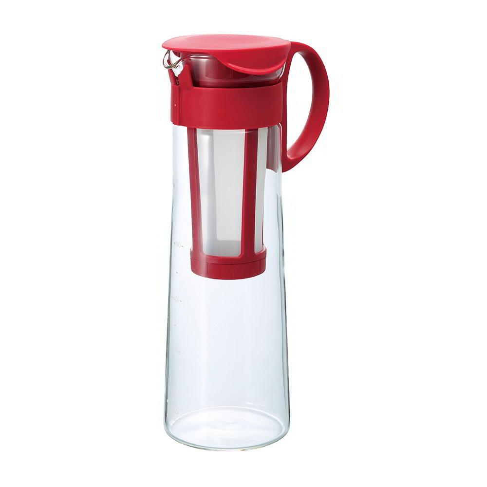 【日本HARIO】紅色冷泡咖啡壺1000ml《WUZ屋子》