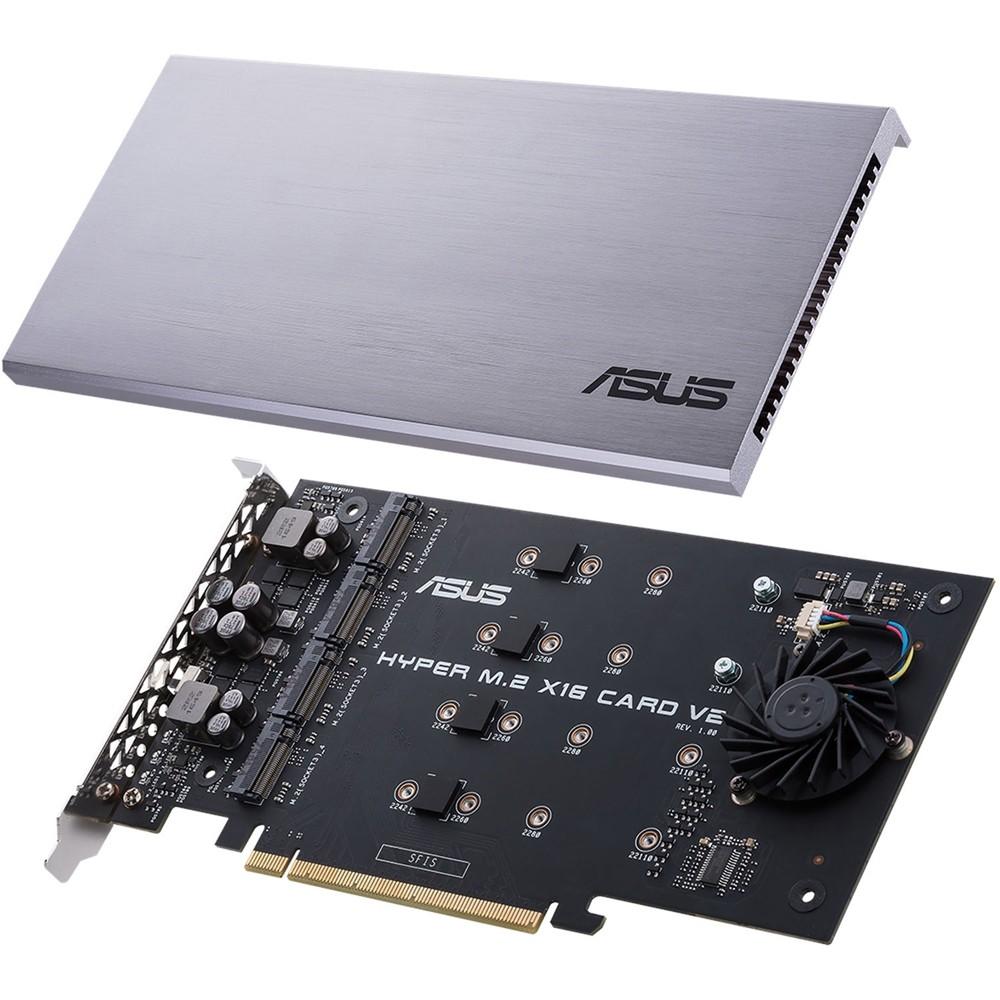【ASUS華碩】 HYPER M.2 X16 PCIe CARD PCIe介面卡 全新V2版