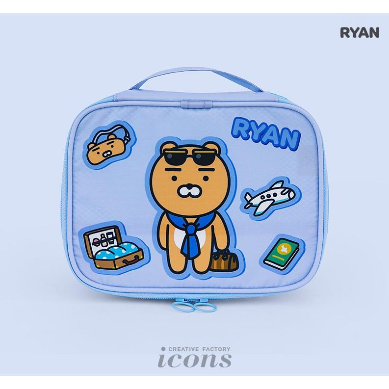 【Kakao Friends】韓國 旅行收納袋(L)-Ryan