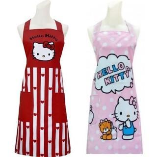 三麗鷗 Hello Kitty 條紋愛心/ / 點心 圍裙 雲林縣