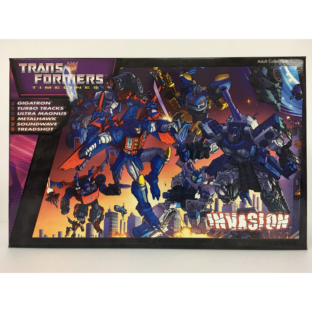 Transformers Timelines Invasion Botcon 2012