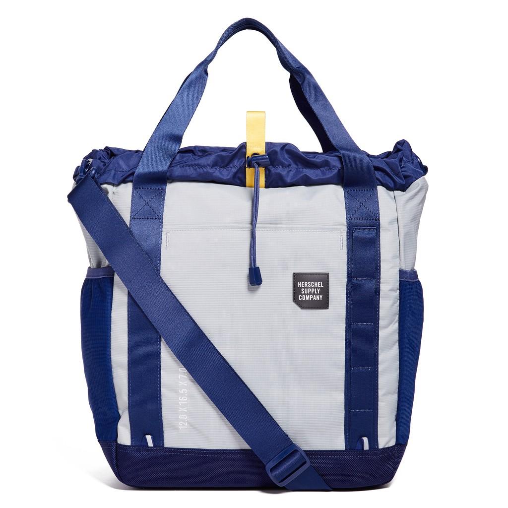 Herschel Trail Barnes 深藍 灰色 防水 帆布 旅行 手提 托特包 男生 側背包 手提 側背 現貨