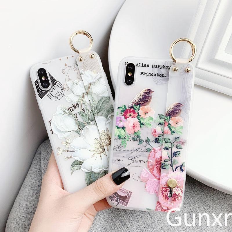 3D Flower Bird TPU Case Samsung Galaxy A10 A30 A50 A70 A80 A