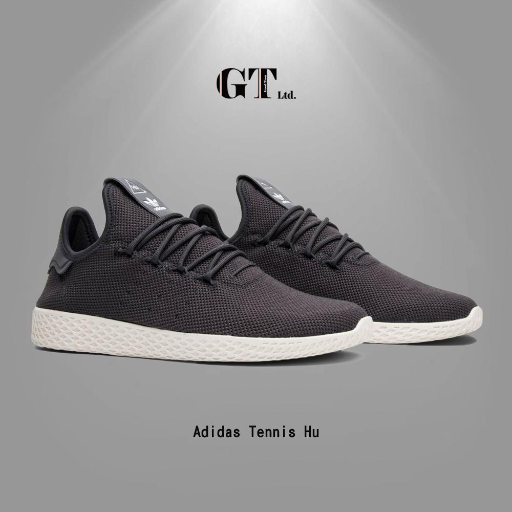 481baf23b GT Adidas Originals Tennis Hu 黑灰男鞋菲董低筒輕量現貨運動鞋CQ2162 ...