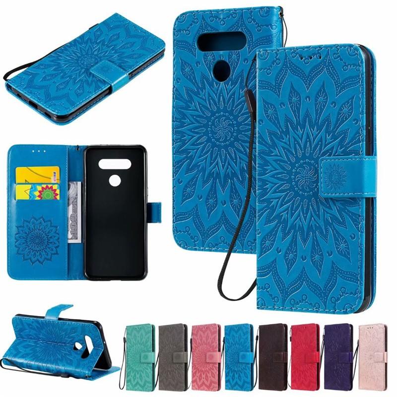 壓紋太陽花LG手機皮套 G3 G4 G5 G6 mini Q6 Plus G7 G8S G8X G8 ThinQ 保護殼