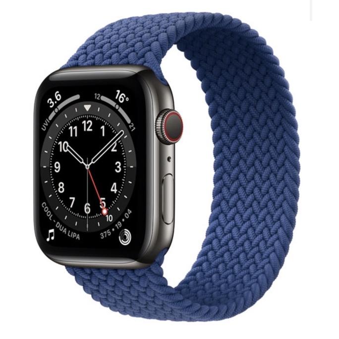 Apple Watch Series 6 太空黑色不鏽鋼錶殼 44