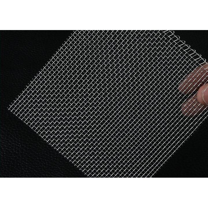 (可開發票)不銹鋼篩網304/316不銹鋼網過濾網鋼絲網片鐵絲網軋花網80目100目