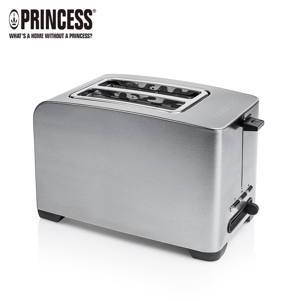 荷蘭公主Princess 不鏽鋼厚薄烤麵包機 142356