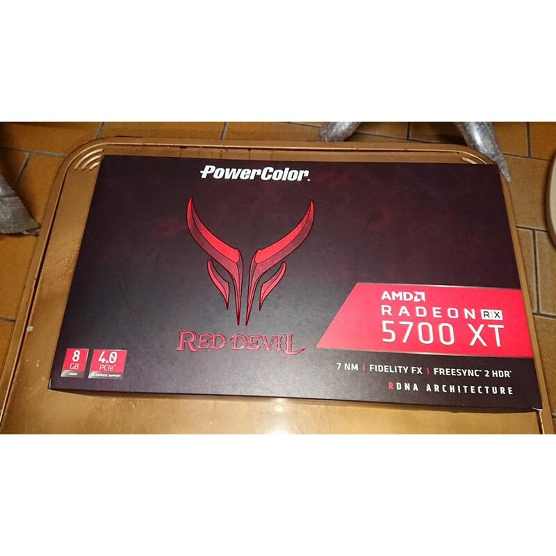 PowerColor RX5700XT 8G DDR6 Red Devil 紅魔最高階版本 原廠保固5年 完整盒裝