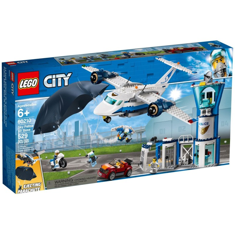 [brickfessional] LEGO City城市系列 60210 空軍警察基地
