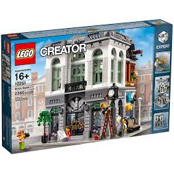 LEGO 樂高 10251 街景 轉角銀行 Brick Bank 全新未拆 絕版