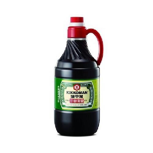 統一 龜甲萬甘醇薄鹽醬油(1600ml/瓶)[大買家]