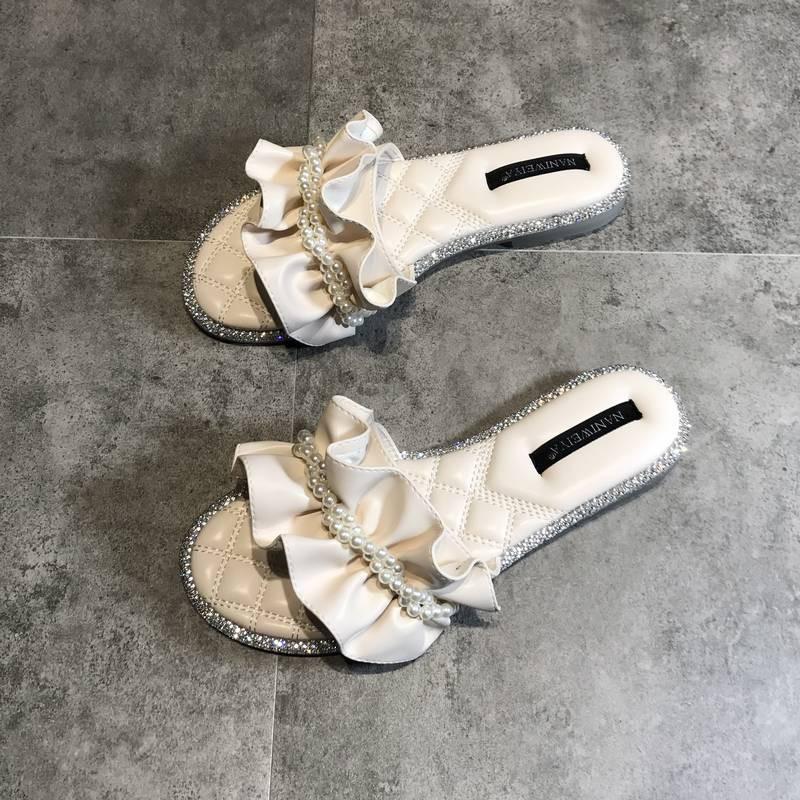 拖鞋女夏外穿2平底涼拖鞋 涼鞋 羅馬涼鞋 楔型涼鞋 其他涼鞋 拖鞋 ipanema 涼鞋 skechers 涼鞋 帝安諾