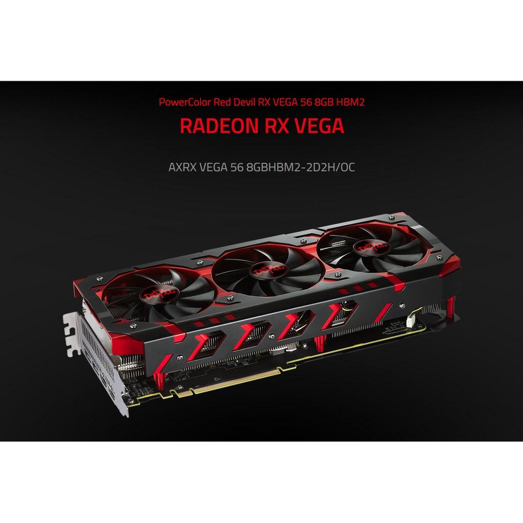 撼訊 AXRX VEGA 56 8GBHBM2-2D2H/OC 顯示卡