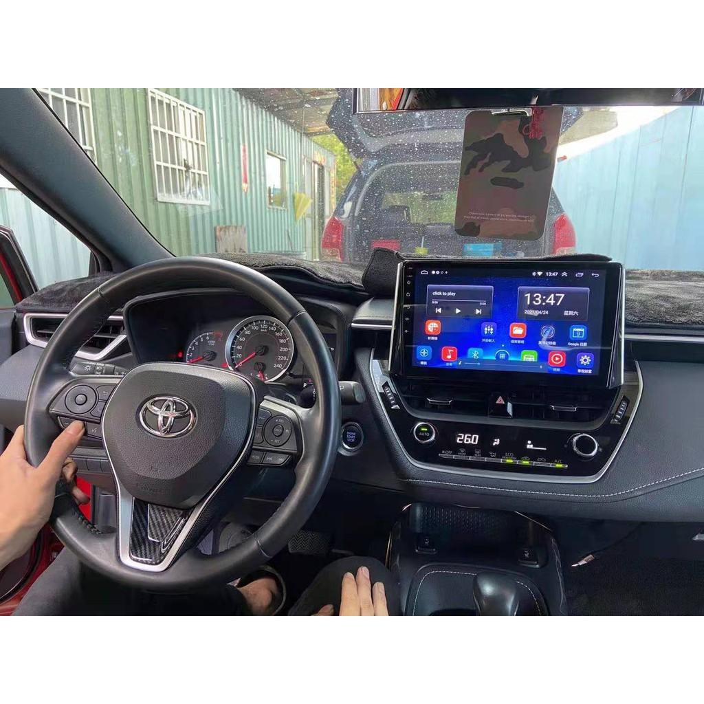 八核心7862DSP 6+128G TOYOTA AURIS 2019 10吋立屏安卓機carplay