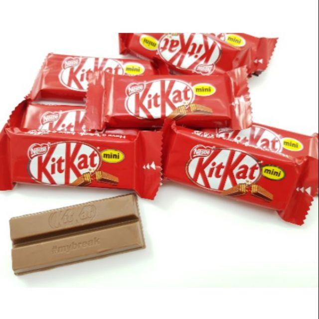 嘗甜頭 附發票 KitKat巧克力 200公克 雀巢奇巧迷你巧克力 威化巧克力餅乾 進口巧克力 kitkat 威化餅