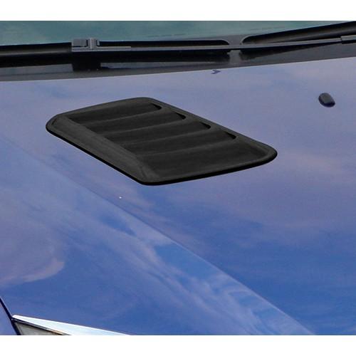 圓夢工廠 Ford 福特 Focus 2005~2008 改裝 質感黑 消光黑 引擎蓋 氣霸飾貼 通風網 裝飾貼