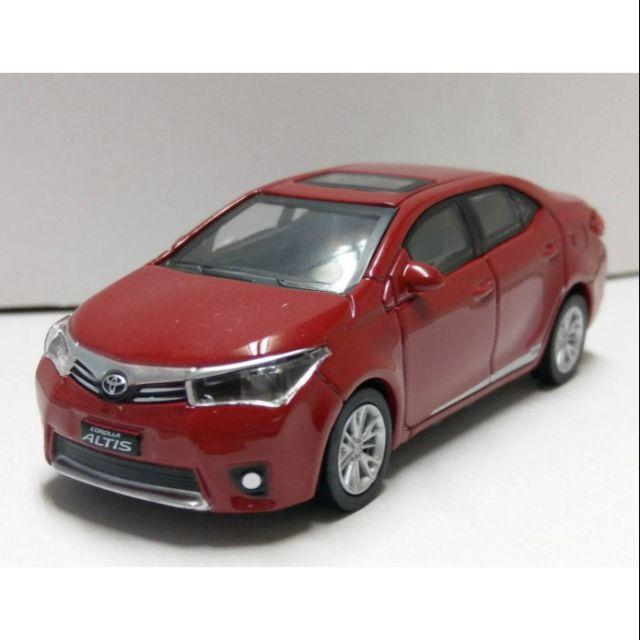 1/43 TOYOTA 豐田 原廠發行紀念 Corolla ALTIS 神車 模型車 LED燈光 合金車 迴力車 玩具車