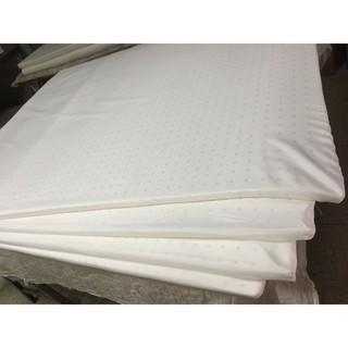 工廠直營-雙人標準床5x6.2台尺(152x188公分)乳膠床墊,厚度2.5公分,台灣製造,可接受訂製。 彰化縣