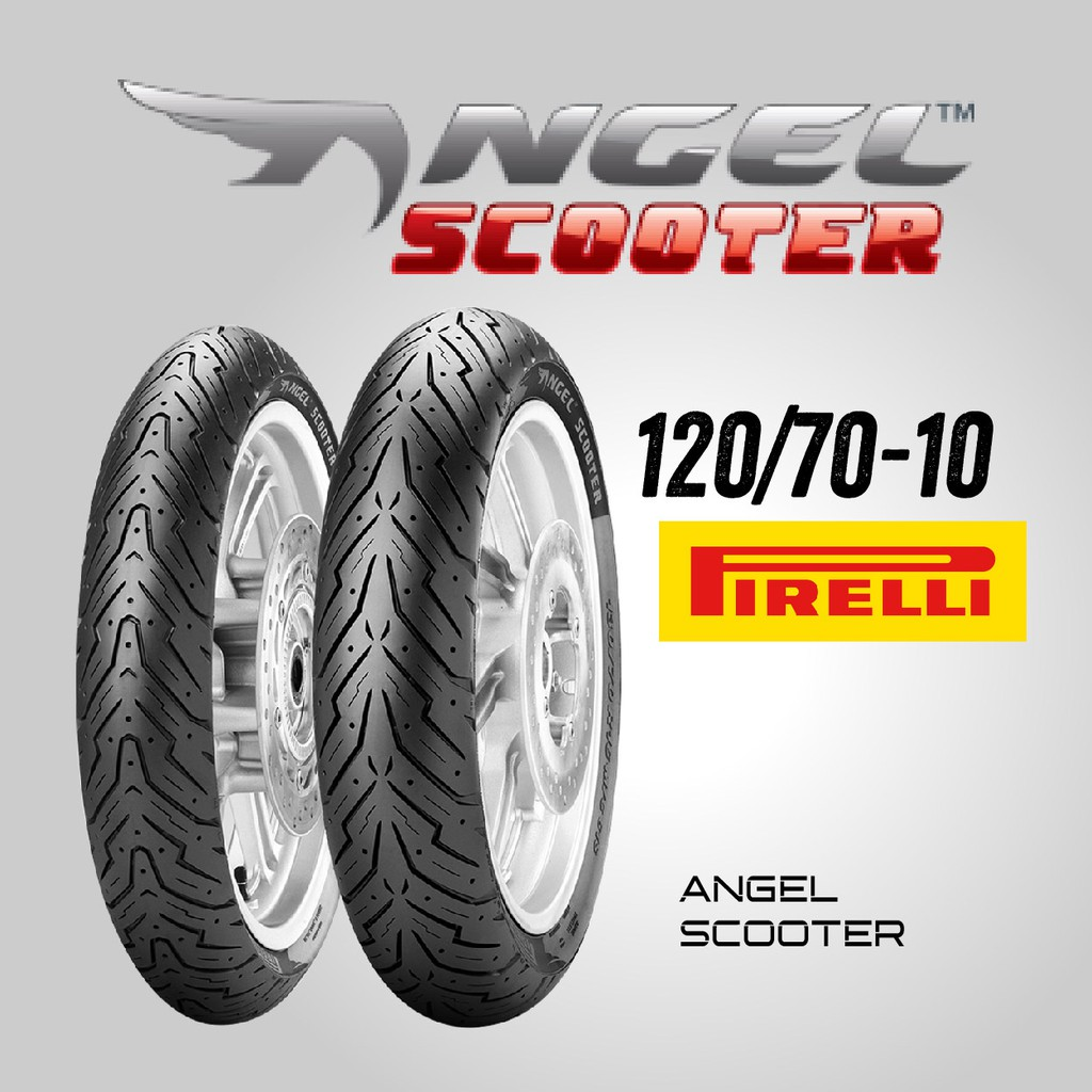 【熊本二輪】倍耐力 ANGEL SCOOTER 天使胎 120/70-10 前/後胎 機車輪胎