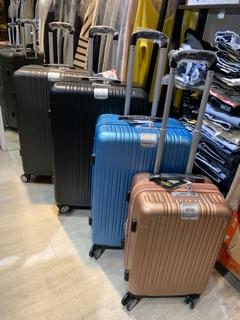 CODY小店 25吋850快速出貨SGS認證公司貨 旅行箱三件套組 LETTI 拉絲防刮  飛機輪 玫瑰金 黑色 行李箱 新北市