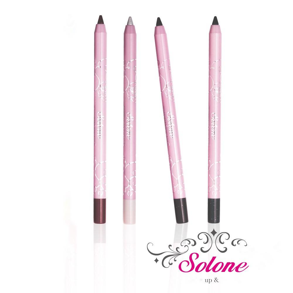【iBeaute】Solone玫瑰公主花園 防水眼線膠筆(兩色)