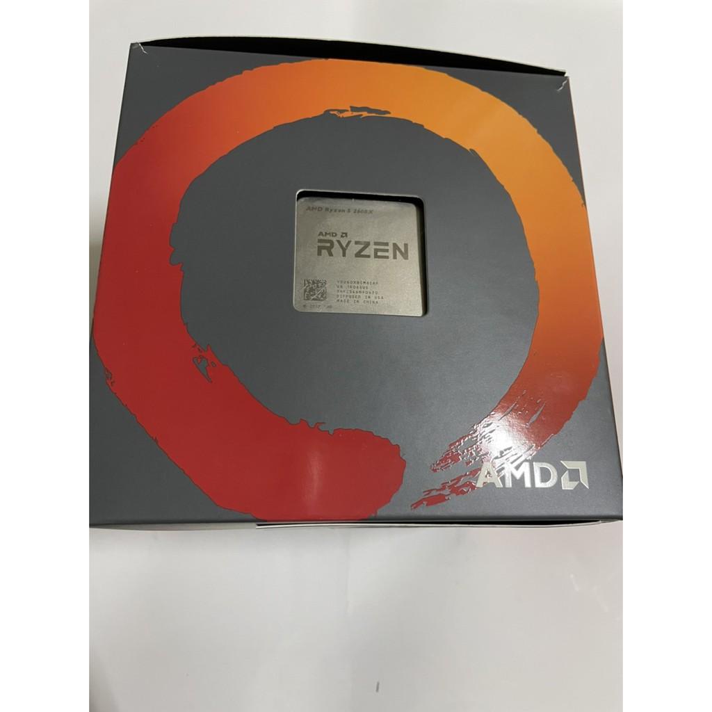 CPU AMD R5 2600X 台灣代理貨