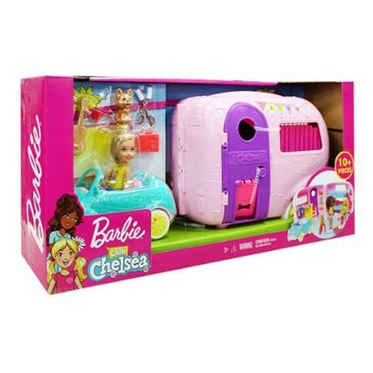 ✔韓國 ◤WITH SHIM◢ Barbie 芭比娃娃玩具露營車